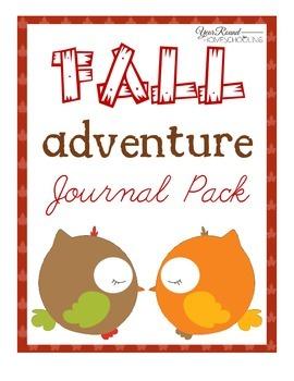 Fall Adventure Journal Pack