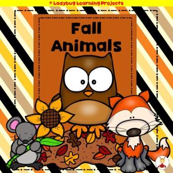 Fall Animals  (A Sight Word Emergent Reader and Teacher Lap Book)