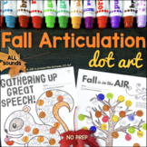 Fall Dot Art {NO prep!}