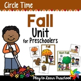 Fall Circle Time Unit