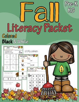 Fall/Autumn Literacy Packet