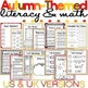 #dealsinoctober Fall/Autumn Literacy and Math Activity Bun