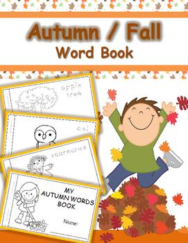 Fall/Autumn Word Book