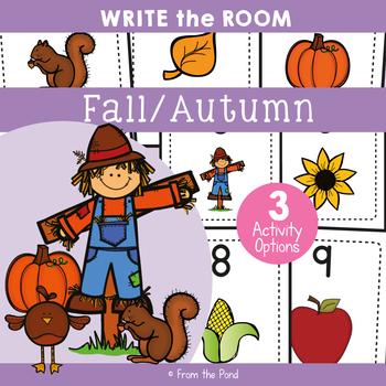 Fall / Autumn - Write Cut Paste the Room