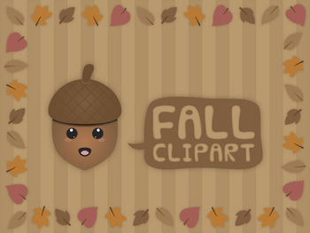 Fall - Autumn clip art set