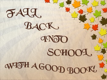 Fall Back Into School Poster