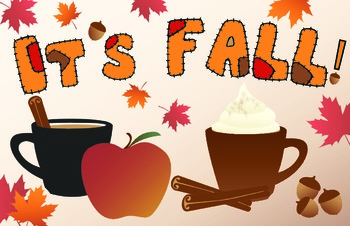 Fall Banner for Classroom or Bulletin Board