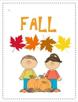 Fall Binder Cover