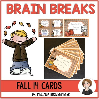 Fall Brain Break Cards
