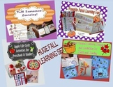 Fall Bundle - Pumpkins, Leaves, Apples, and Scarecrows Pre