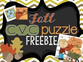 Fall CVC Puzzle