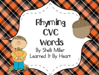 Fall CVC Rhyming Words