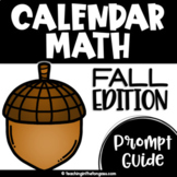 Fall Calendar Math Routines Script Free