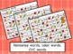 Fall Card Game Pack (letters, numbers, CVC, nonsense, colo
