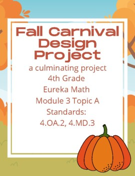 Fall Carnival Math Project (Area and Perimeter Project)