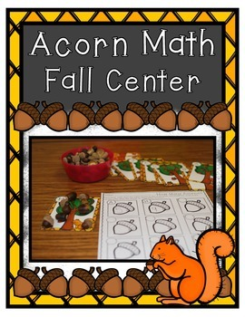 Fall Center ~ Acorn Math