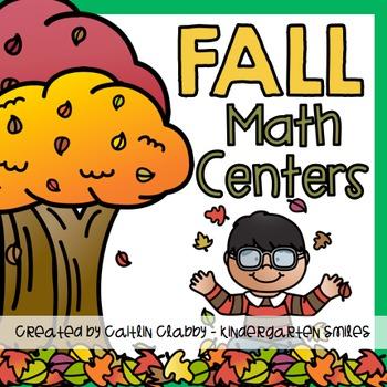 Fall Center Activities (Math)