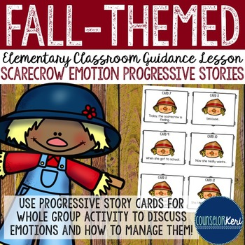 Fall Classroom Guidance Lesson - Emotions - Cooperation -