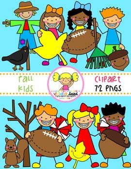 Fall Clipart {Kids Clipart}
