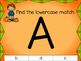 Fall Clip Cards Literacy Center: Lowercase to Uppercase Le