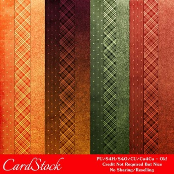 Fall Colors 3 A4 size Digital Papers