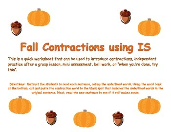 Fall Contractions Using IS