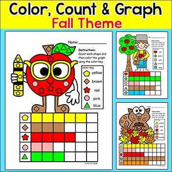 Fall Activities Count and Graph - Autumn Activities - John