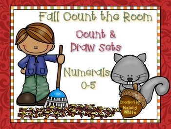 Fall Count the Room Numerals 0-5
