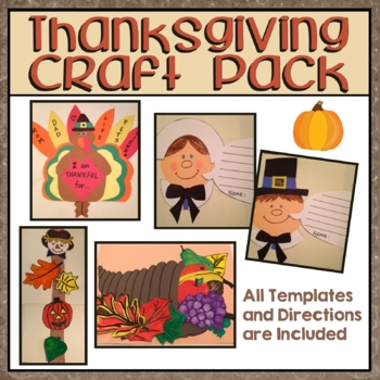 Thanksgiving Craft Pack