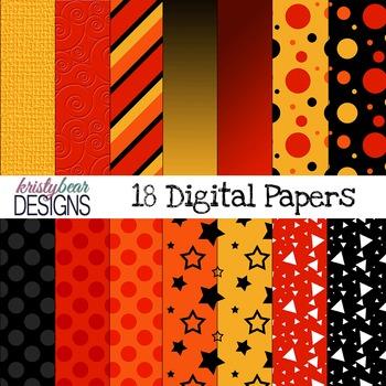 Fall Digital Paper