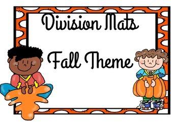 Fall Division Mats