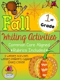 Fall First Grade Writing Prompt Activities & More Common C