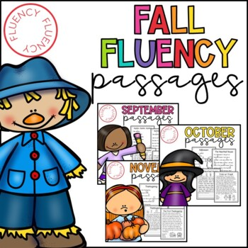 Fall Fluency Bundle (Differentiated)