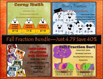 Fall Fraction Bundle