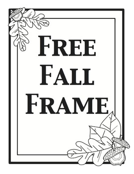 Free Fall Frame