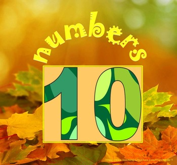 Fall - Free Numbers - Interactive PowerPoint