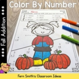 Color By Numbers Fall Addition