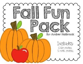 Fall Fun Center Pack
