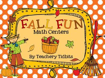 Fall Fun Math Centers