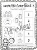 Fall Fun Math & Literacy Pack, Differentiated, Counting Ac