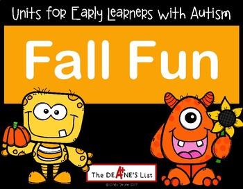 Fall Fun: A sensory-motor active learning unit