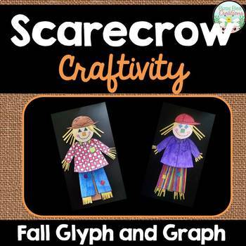 Fall Glyph and Graph - Scarecrow