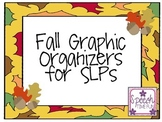 Fall Graphic Organizers for SLPs