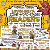 Fall, Halloween, Thanksgiving Sight Word Readers Bundle
