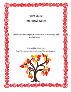 Fall Interactive Notes