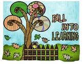 Fall Into Learning (Bulletin board)