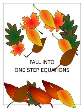 Fall Into One Step Equations