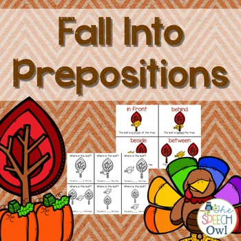 Fall Into Prepositions
