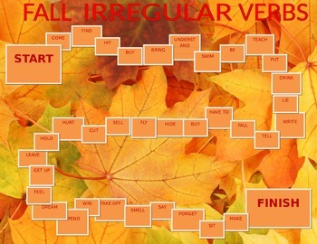 Fall Irregular Verbs