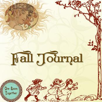 Fall Journal; Nature Activities; Homeschool; Integrated Re